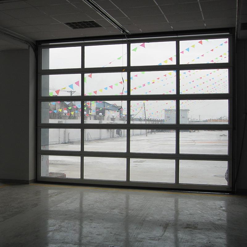4S店透明提升门