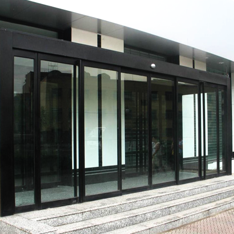 铝型材有框玻璃感应门