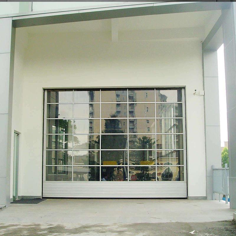展厅透明提升门