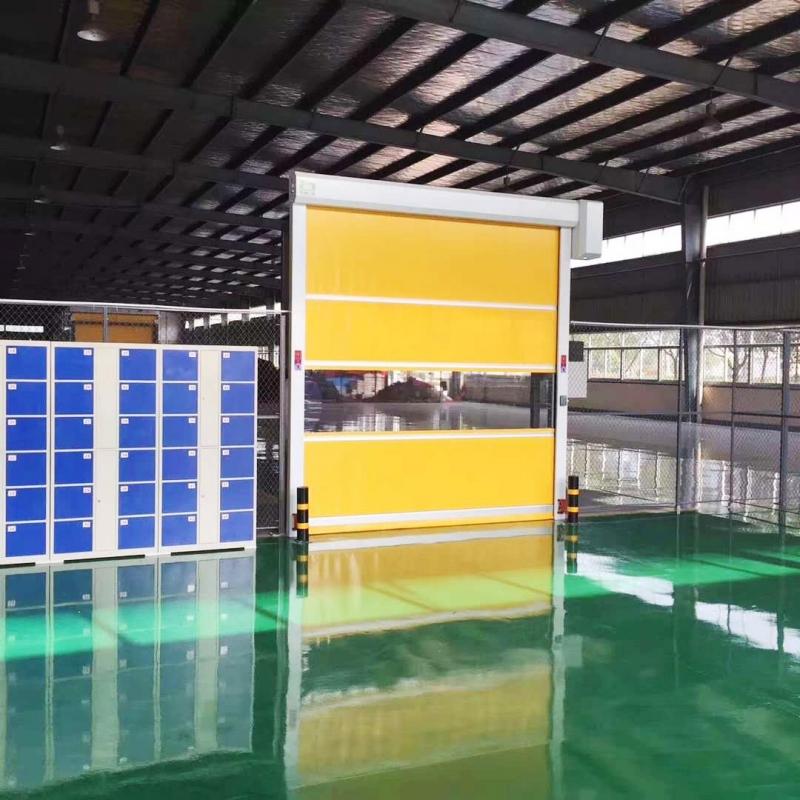 PVC材质快速门