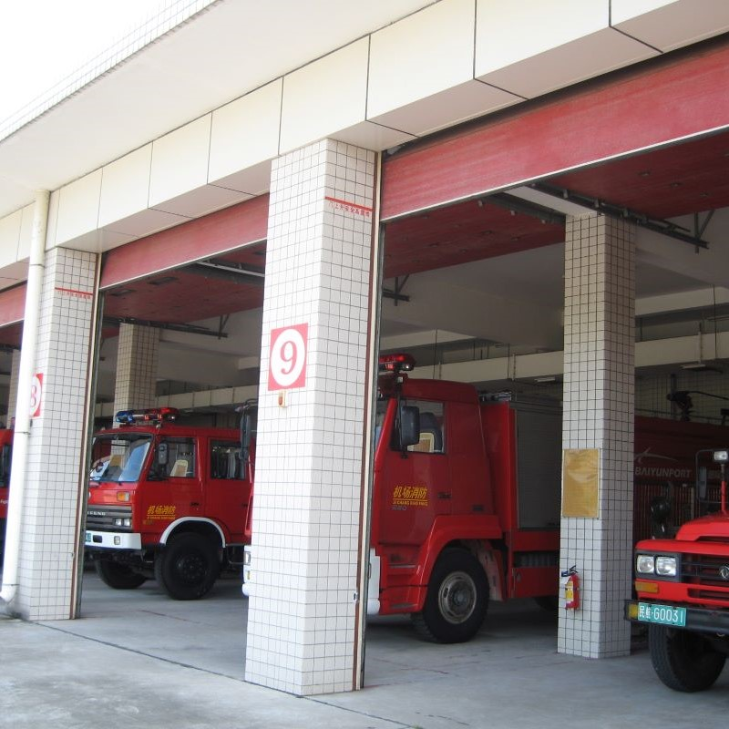白云机场消防中队项目