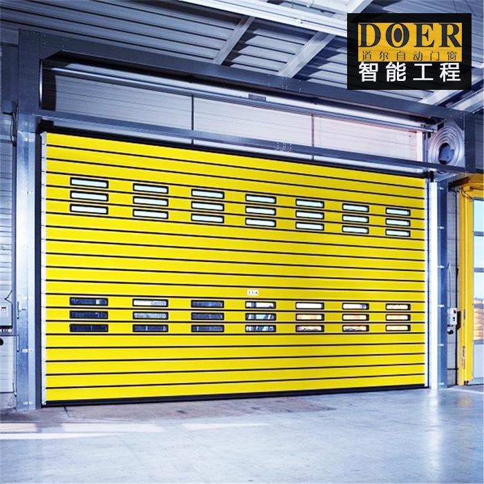 工业提升门的结构组成