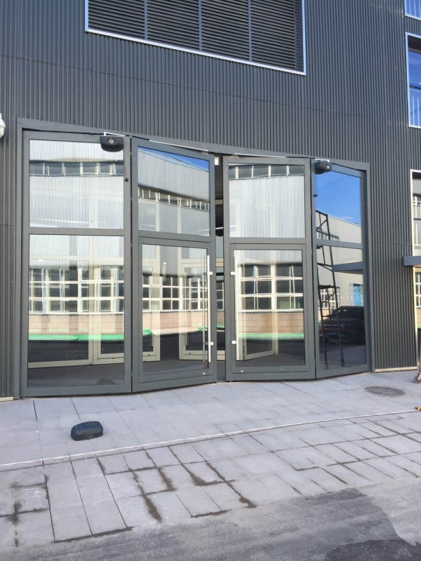 亦庄工业园玻璃折叠门曲臂电机